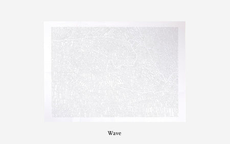 A1 Colouring Poster: Wave - Daily Mind