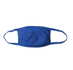 BL200- Blue Fabric Mask w/ Earloops ($3.99/mask, pack of 10)
