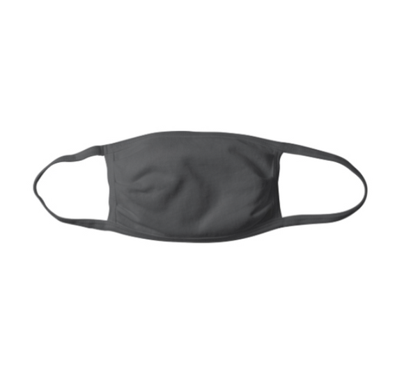 C200- Charcoal Fabric Mask w/ Earloops ($3.99/mask, pack of 10)