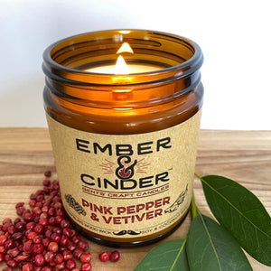 Pink Pepper & Vetiver Candle