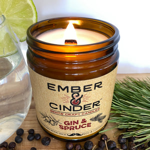 Gin & Spruce Candle