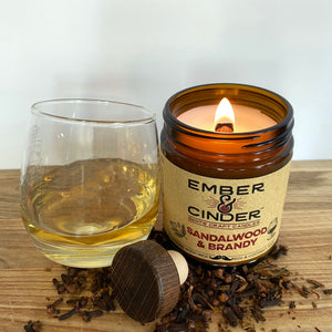 Sandalwood & Brandy Candle