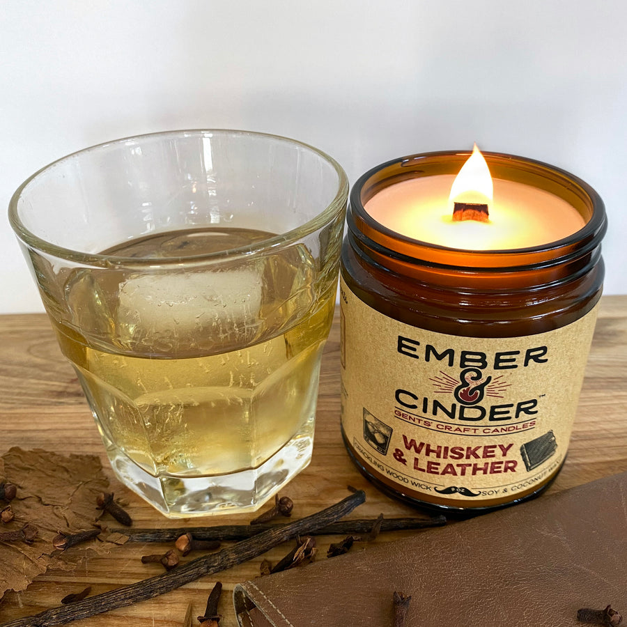 Whiskey & Leather Candle