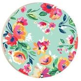 PGD Green Floral Car Coaster