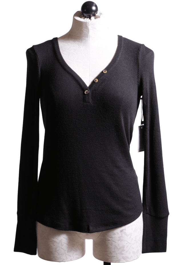 PJ Salvage V Neck Henley
