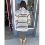 Oatmeal Sweater Cardigan
