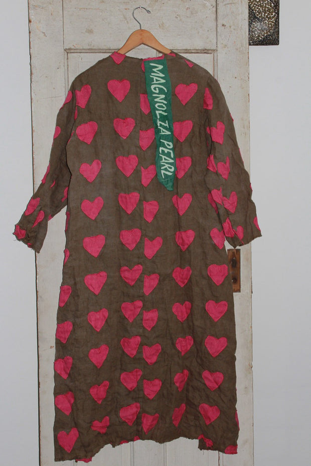 Magnolia Pearl Heart Applique Emery Coat