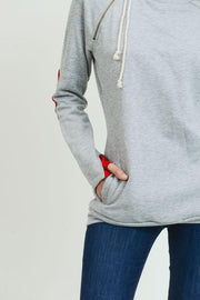 Don't Rush Heather Grey Hoodie