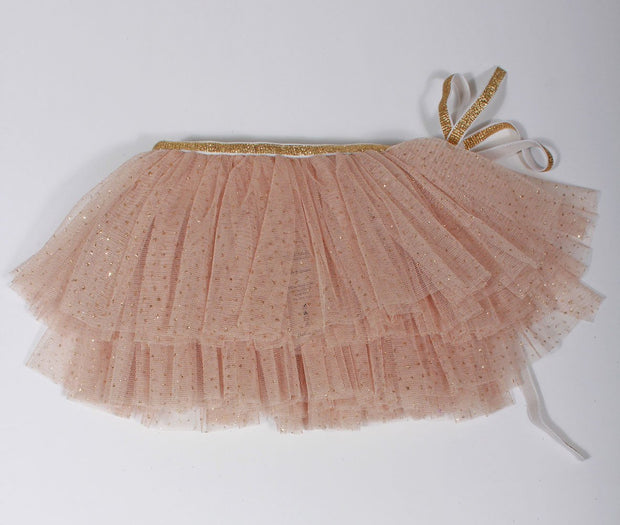 Oh Baby Glinda Wrap Skirt in Champagne 6521
