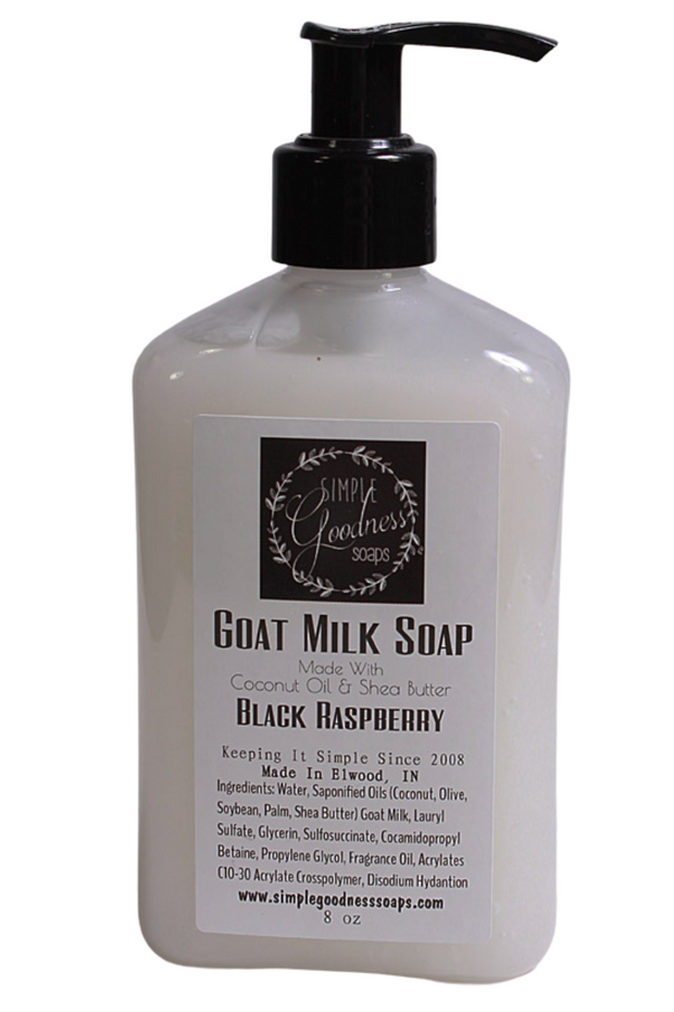 Simple Goodness Soaps Goat Milk Liquid Soap
