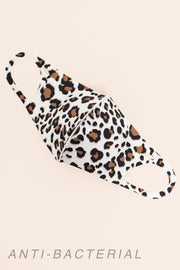 Leopard Face Mask // Brown