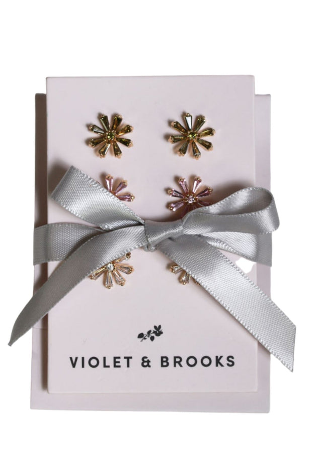 Violet and Brooks Poppy Earring Gift Trio