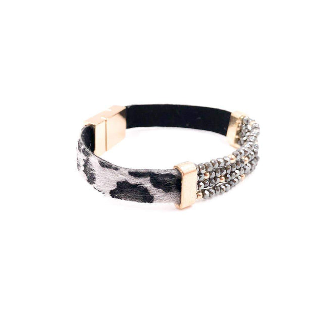 Mix Mercantile Designs - Leo Bracelet - Gray