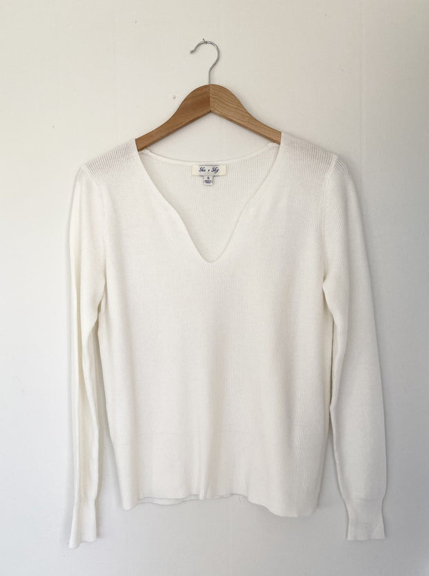 Cloud Nine Off White Sweater