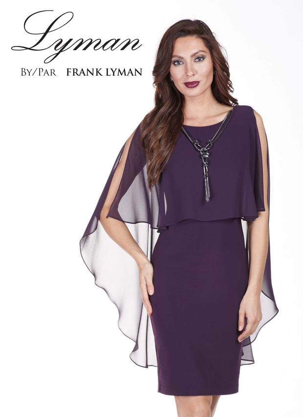 Frank Lyman Berry Woven Dress