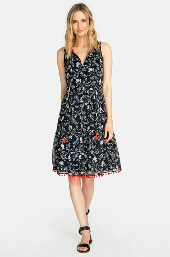 Johnny Was Susila Tiered Dress Multi