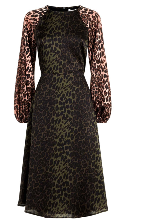 Traffic People Jungle Mixup Dress