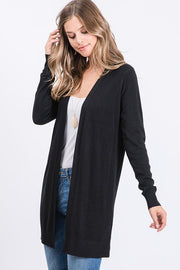 Got A Hold On Me Black Cardigan