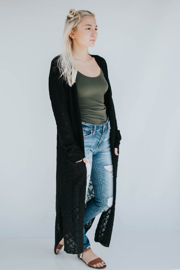 Long Lightweight Cardi