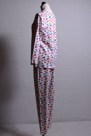 Roller Rabbit Funny Birds Pajamas Fuschia W-LPNJ-002