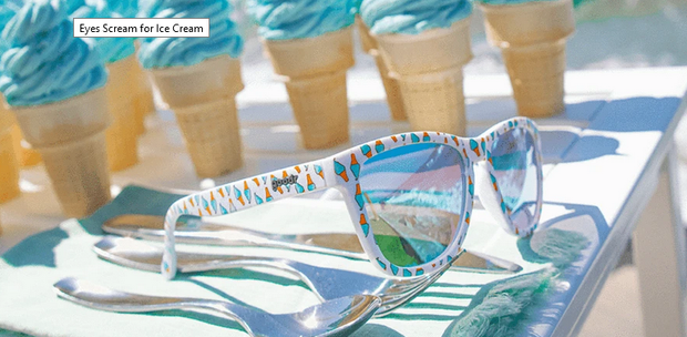 Eyes Scream For Ice Cream Goodr Sunglasses