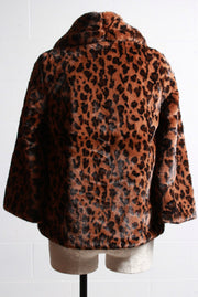 Love Token Willowdean Coat Leopard