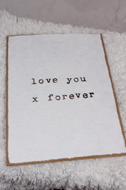 Sugarboo Designs Love You x Forever Print HP111