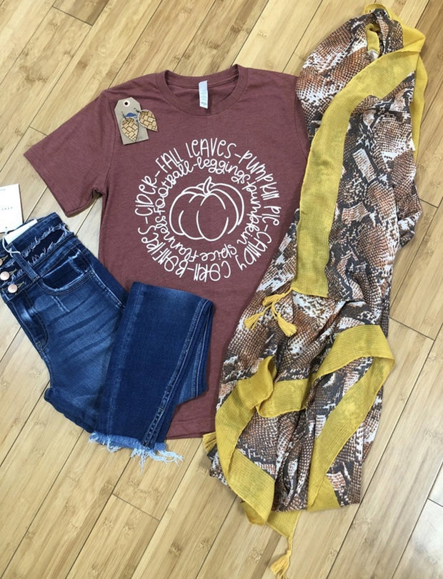 ALL ABOUT FALL TEE
