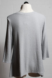 Et'Lois Thermal A Line Tee Grey