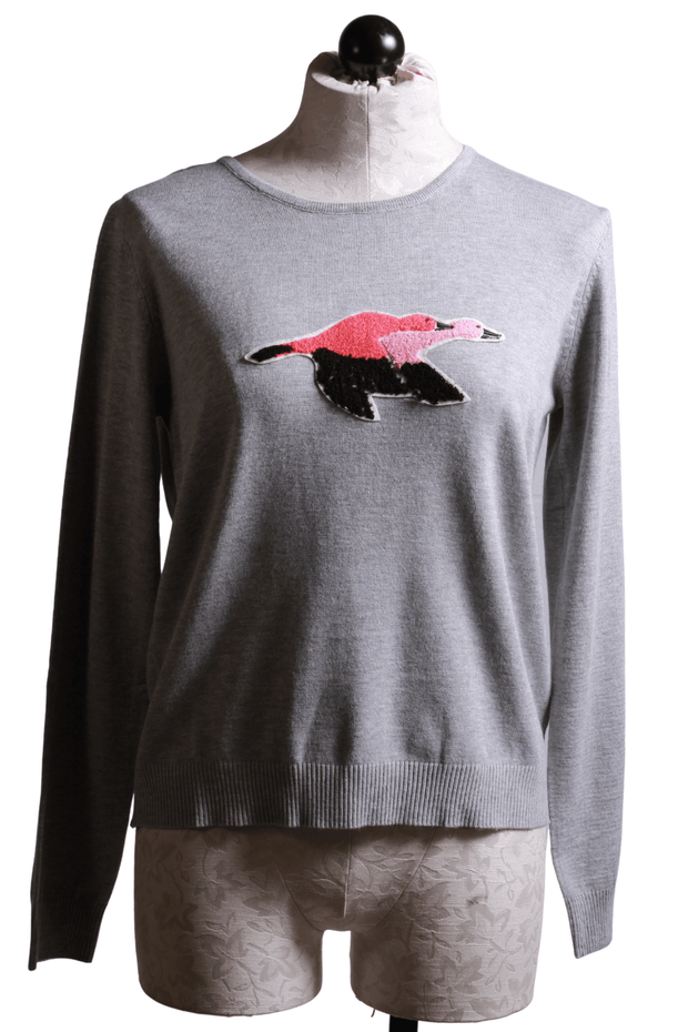 Compania Fantastica Bird Sweater Gray W120KA103