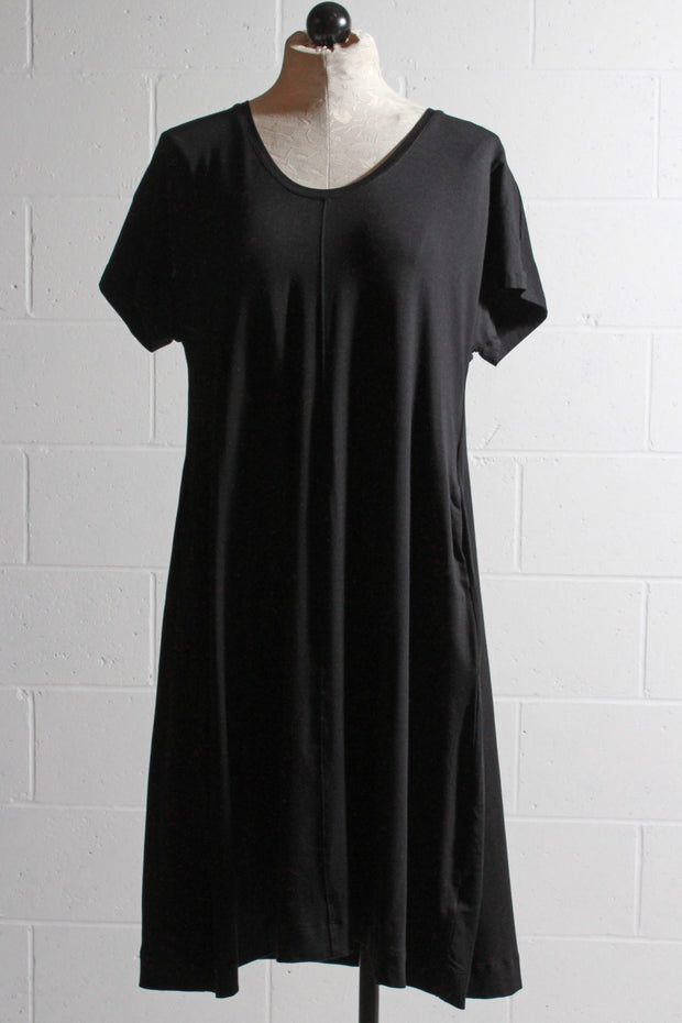 Two Danes Bisa Bamboo Dress Black
