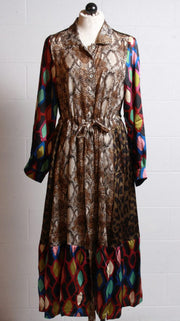 Alembika Python Dress Multi