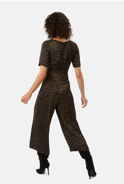 Traffic People Leopard Jumpsuit