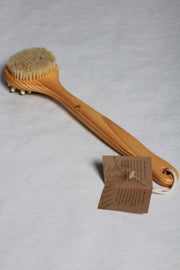Baudelaire Cedar Bath Brush Massager