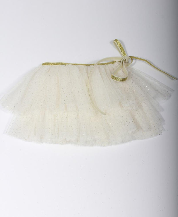 Oh Baby! Glinda Wrap Skirt in Ivory Gold 6521
