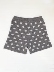 In Your Dreams Heather Grey High Waisted Shorts