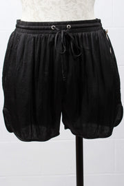 Fifteen Twenty Drawstring Short Black