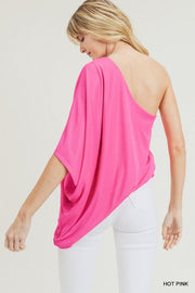 A Touch of Sass Hot Pink Top