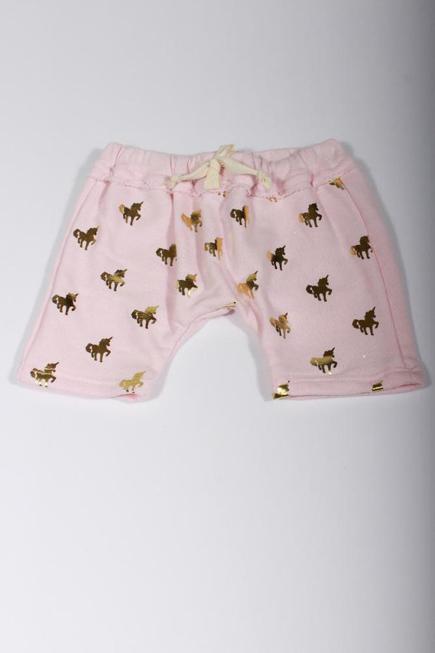Oh Baby! Jogger Unicorn Pants in Pink 6032P546