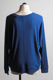 Fifteen Twenty Hi Lo Dolman Sleeve Top Indigo