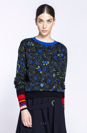 Ivko Floral Pattern Pullover