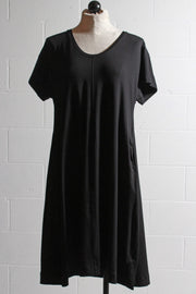 Two Danes Bisa Bamboo Dress Black 33741-399