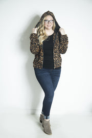 On the Prowl Leopard Hoodie