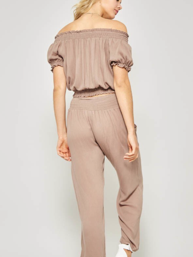 Smocked Top Pant Set-Final Sale