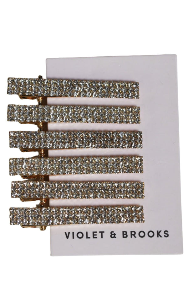 Violet and Brooks Sparkle Hair Clip Set