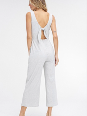 Open Back Jumpsuit-Final Sale