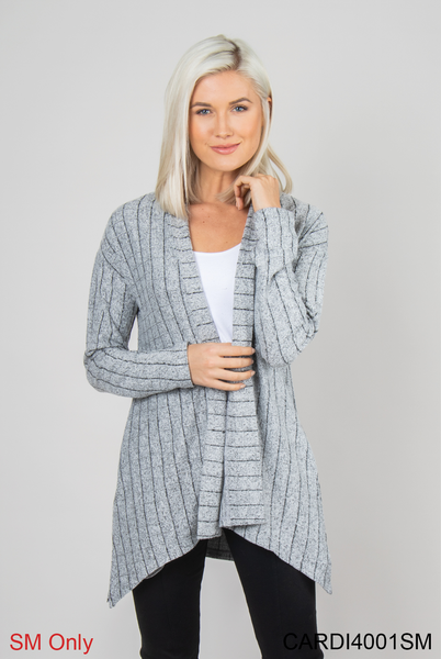GANZ Pinstripe Party Steel Cardigan