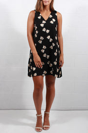 Julie Brown Aviana Dress Black Dazzle