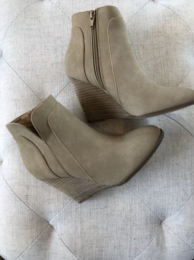 Sydney Wedge Bootie-Final Sale