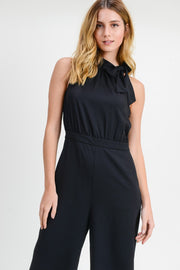 Halter Neck Jumpsuit-Final Sale